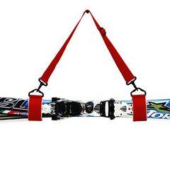 スキー板用 ハンドキャリーストラップ レッド