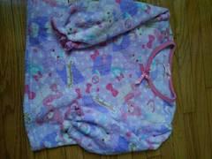 ボンボンリボン パジャマ 120センチ 中古 長袖