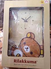 激レア!非売品!リラックマBIG壁掛け時計
