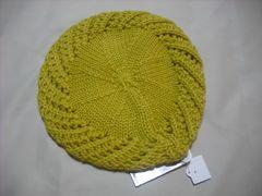 wb233 女 BILLABONG ビラボン ウールニット帽 ベレー