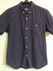 nonnative チェックシャツ CHECK SHIRT ノンネイティブ 紫 茶 白 黒 2