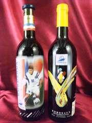 レア1998年フランスワールドカップ公認ライセンスワイン2本set赤