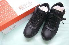 旅日和 スニーカー 黒 22.5cm 3E 美品!