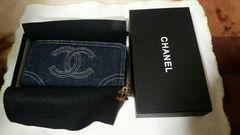 シャネル長財布 デニム柄 ノベルティ貴重な商品に成ります。