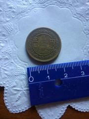 昭和23年の5円玉(穴無し)レトロ♪中古品