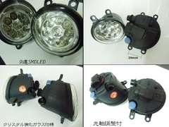 トヨタ用/18連LED/耐熱レンズ製フォグランプユニット/H8/H11/H16