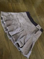 冬用プリーツスカート