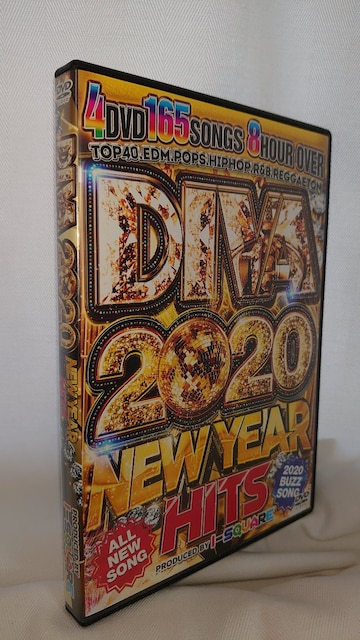 最新 最速 DIVA 2020 -NEW YEAR HITS- / I-SQUARE 4枚組  < CD/DVD/ビデオの