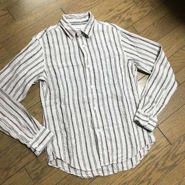 美品JOURNAL STANDARD ストライプシャツ ジャーナル