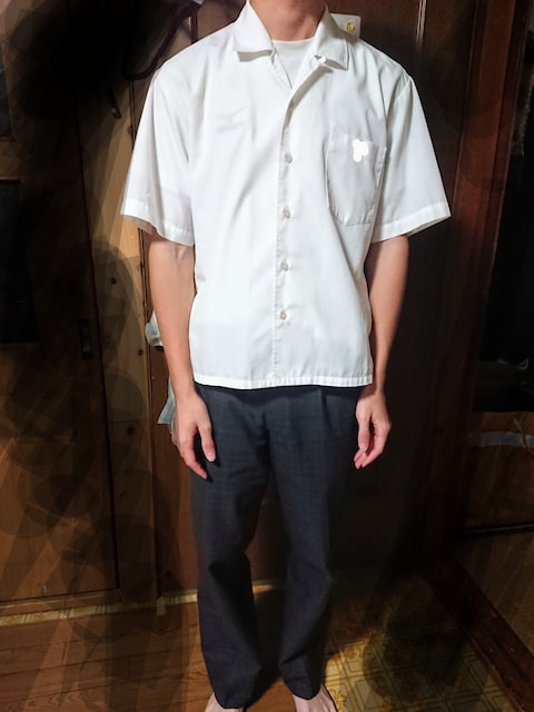 夏用 Yシャツ チェックズボン  < 男性ファッションの