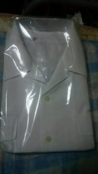 激安♪新品♪特大♪白の半袖カッター(Yシャツ)10枚<訳あり…>