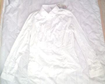 新品 難あり 韓国 MIXXO ブラウス 85-95-160 白 ホワイト S