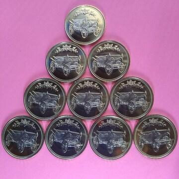 ★天皇陛下御在位30周年記念!500円硬貨!10枚セット!数量限定!