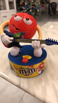 ★エムアンドエムズ★フィギュア★m&m's★ギター