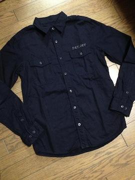 美品JOURNAL STANDARD 刺繍入りデザインシャツ ジャーナル