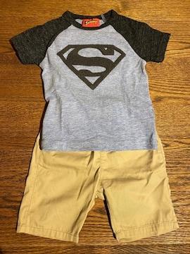 【Tシャツ & パンツ】ネクスト スーパーマン 無印 MUJI