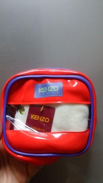 新品★「KENZO」ポーチ付き!タオルハンカチセット  < ブランドの