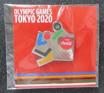 コカコーラ東京オリンピック2020 ピンバッチ「バレーボール」