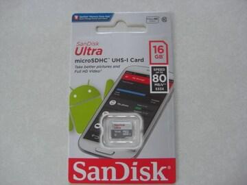 サンディスク microSDHC 16GB