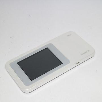 ●安心保証●超美品●au W01 Speed Wi-Fi NEXT ホワイト●