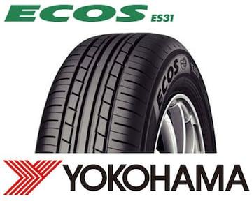 ★195/65R15 緊急入荷★ヨコハマ ECOS ES31 新品タイヤ 4本セット