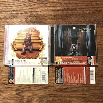 【KANYE WEST (カニエ・ウェスト)】アルバム2セット