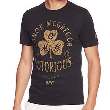 新品込 Reebok UFC コナーマクレガー ショートスリーブTシャツ S
