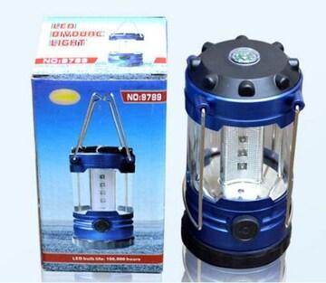 LED ランタン  高輝度 12灯  電池式  保障有り
