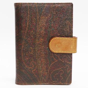ETROエトロ 6穴手帳カバー ペイズリー柄 良品 正規品