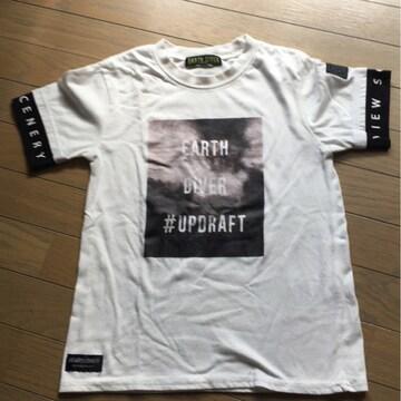 アースダイバーTシャツ140 白 送料込み