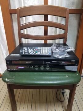 希少ダビング可完動超美品シャープVHS/HDD/DVDレコーダDV-ACV52