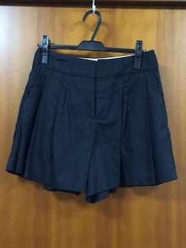 アローズ☆ネイビー☆フレアショートパンツ