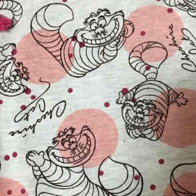 ディズニー・チェシャ猫&ドット柄ハーフパンツ。LLサイズ < 女性ファッションの