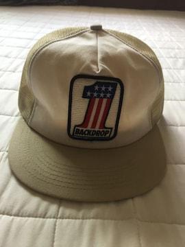 back drop バックドロップ CAP トリコロールカラー