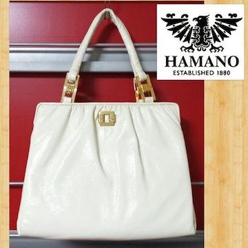 HAMANO 濱野皮革工藝 ハンドバッグ 未使用