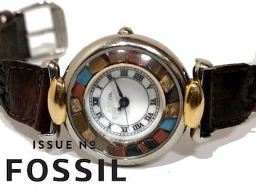 極レア【格安】フォッシル/FOSSIL 美しいストーン 腕時計