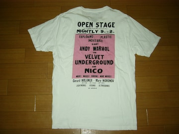 HYSTERIC GLAMOUR×ANDYヒステリックグラマーTシャツL白