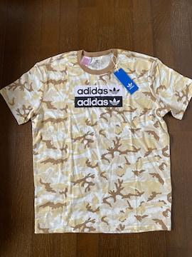 addidas☆カモフラージュ柄Tシャツ・新品