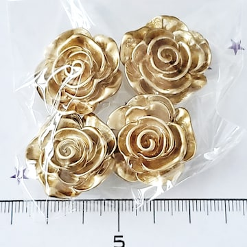 9*デコパーツ 薔薇 23