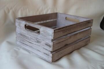 ウッドボックス ホワイト