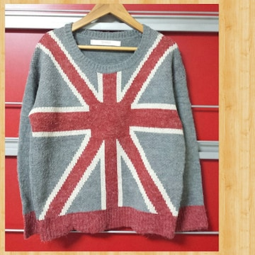 FRAMES Ray Cassin レイカズン ニット セーター M イギリス国旗