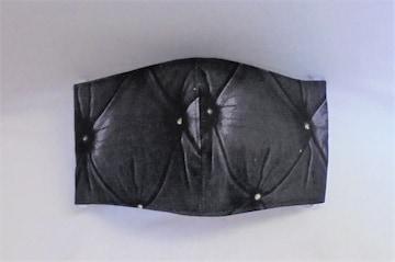 即決◆黒菱柄◆ファッションマスク
