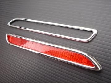 メッキ リアバンパーライトリング レクサス NX200t NX300h