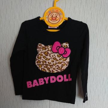 BABYDOLL☆キティちゃんの長袖Tシャツ☆size110