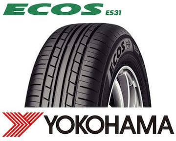 ★155/80R13 緊急入荷★ヨコハマ ECOS ES31 新品タイヤ 4本セット