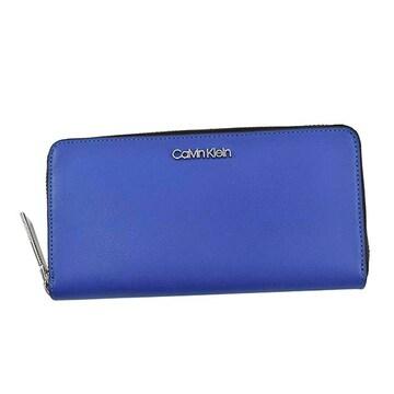 ◆新品本物◆カルバンクライン CK MUST LARGE 長財布(BL)K60K605675◆