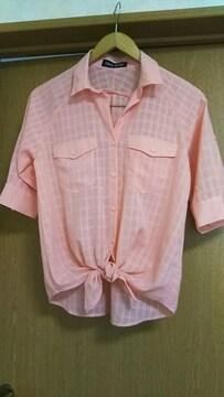 セシルマクビー☆Mサイズ☆ピンクシャツ☆