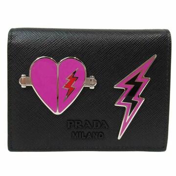 PRADA 1MV204-2DAZ-F0002 二つ折財布レディース