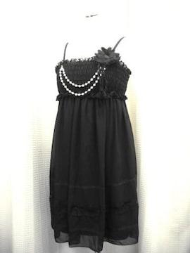 【FAZBEE】黒のキャミドレスです
