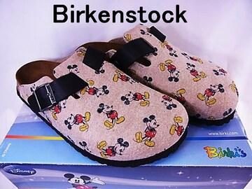 BIRKENSTOCK ビルケンシュトック Disney ボストン サンダル 38 未使用★dot